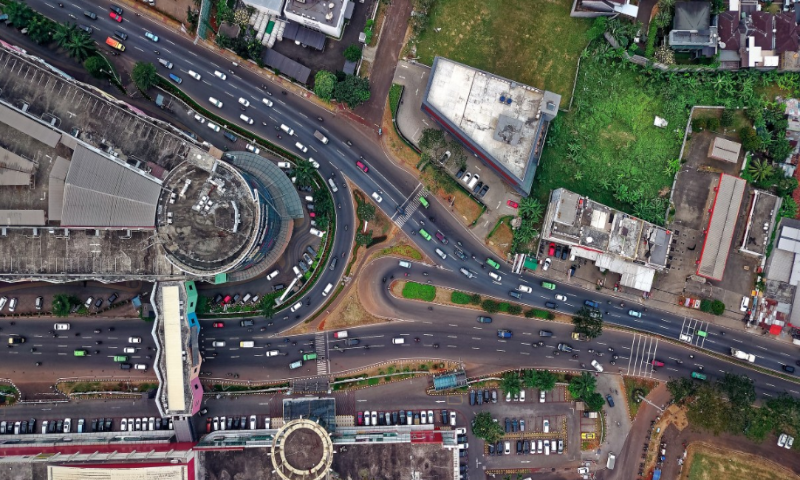 Drone dataset of naturalistic road user trajectories from intersections