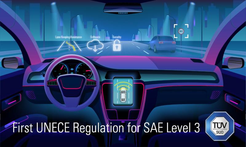 TÜV SÜD explains first SAE level 3 UNECE regulation