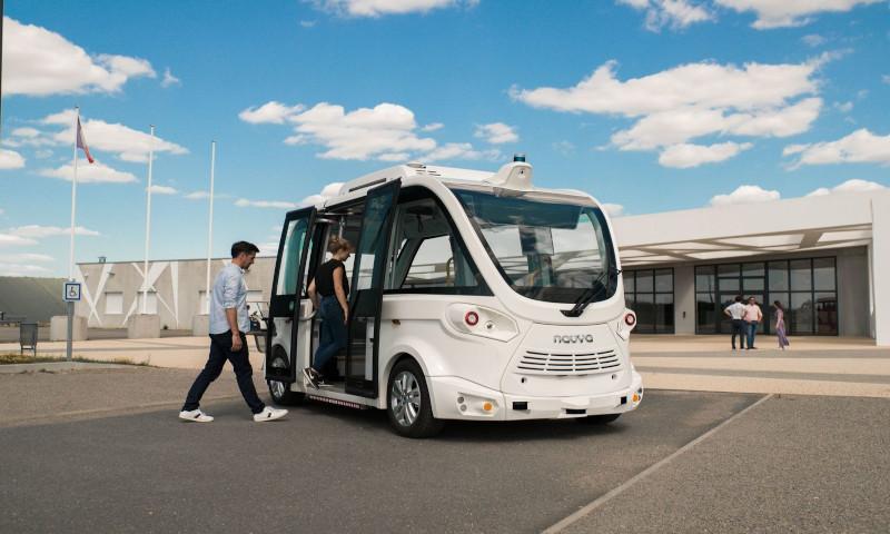 Navya marks a new milestone in autonomous mobility