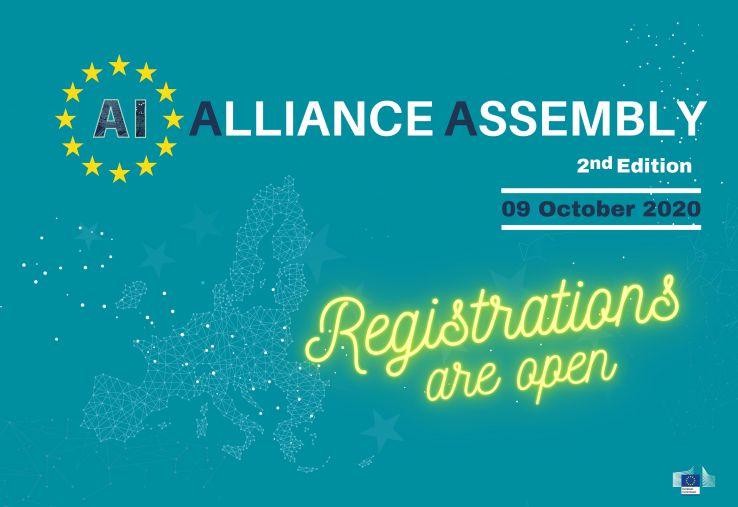 The registration to the second European AI Alliance Assembly are open