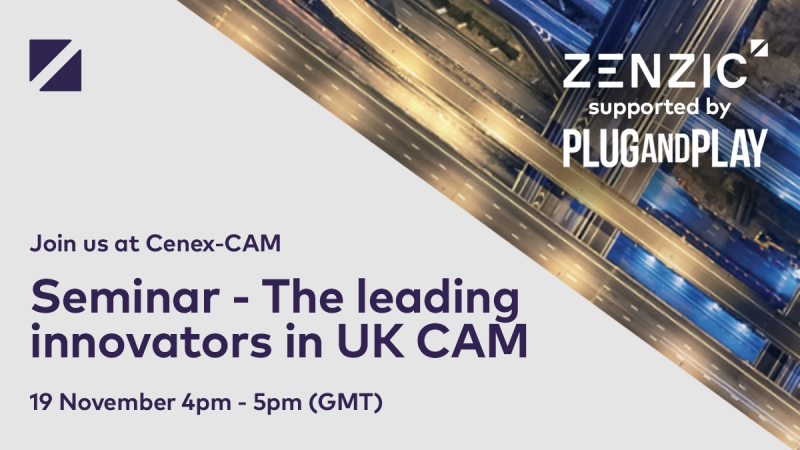 Cenex-CAM Seminar: The leading innovators in UK CAM
